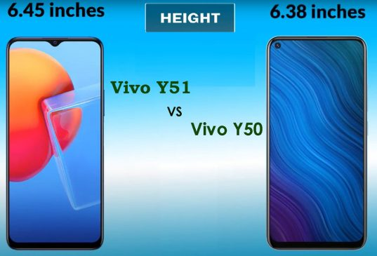 Vivo Y51 vs Y50 comparision