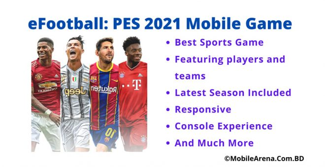 e-Footbal PES 2021 Mobile Game