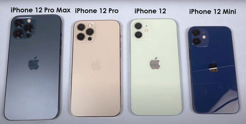 iphone 12 series comparison
